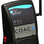 Monitor with COAC Logo